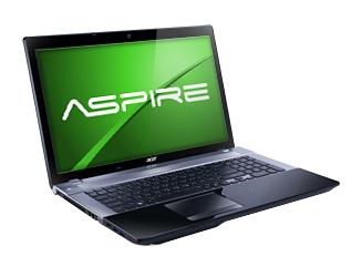 Acer Aspire V3 Series Black Laptop Computer - V3-731-4695