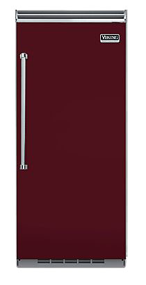 "Viking 36"" Built-In Burgundy All Refrigerator"