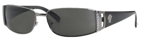 Versace Charcoal Lens Unisex Sunglasses - VE202110016A