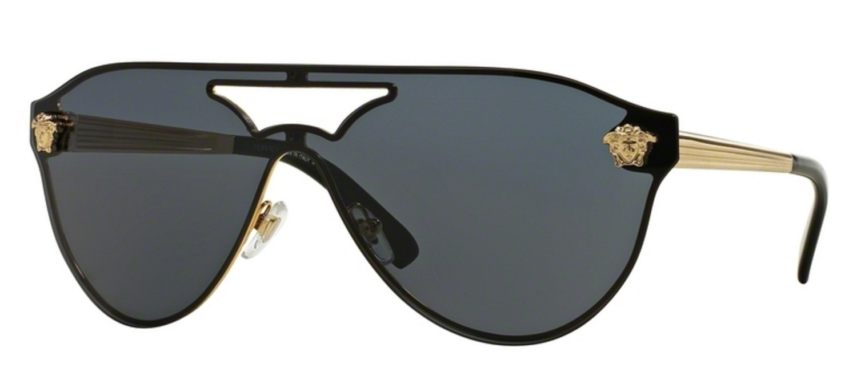 2b447ce6789 Versace Gold Pilot Womens Sunglasses