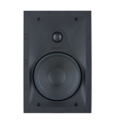 Sonance Black Visual Performance Series In-Wall Rectangle Speakers - 93003