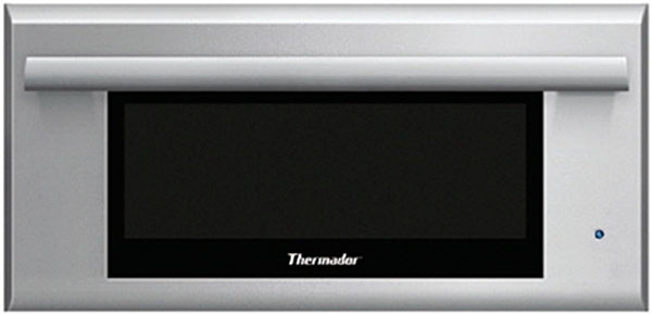 """Thermador WD30JS 30"""" Masterpiece Series Electric Warming Drawer with 2.6 cu. ft. Capacity SoftClose Drawer Door 450 Watt Heating Element Premium Touch Control and Special Proof Mode in Stainless Steel with Masterpiece Series Handle"""