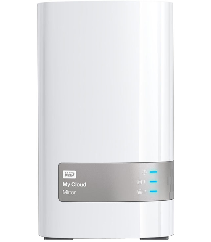 Western Digital 8TB My Cloud Mirror External Hard Drive