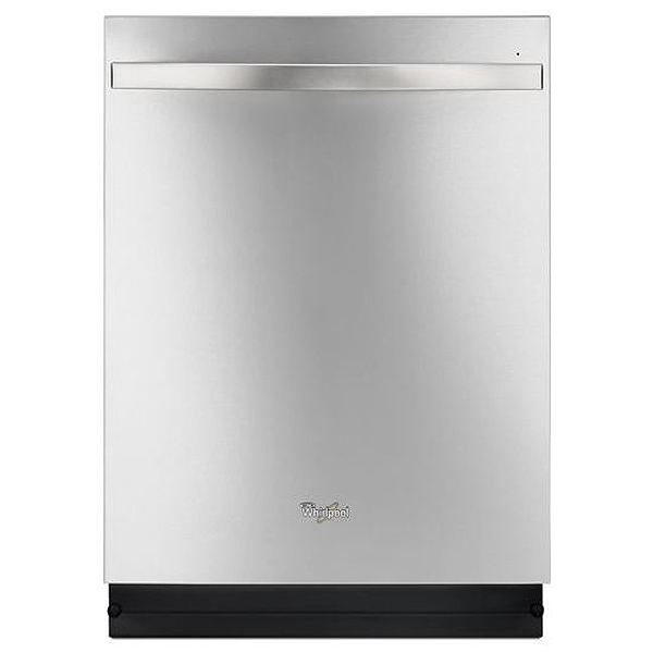 Whirlpool Monochromatic Stainless Steel Built-In Dishwasher