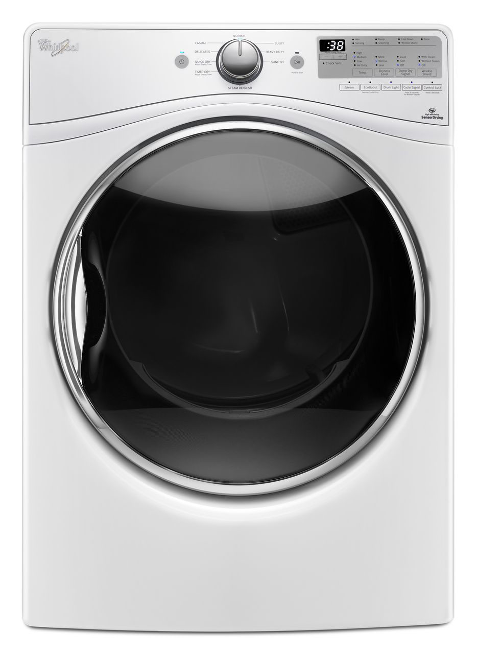 Whirlpool 7.4 Cu. Ft. White Electric Dryer