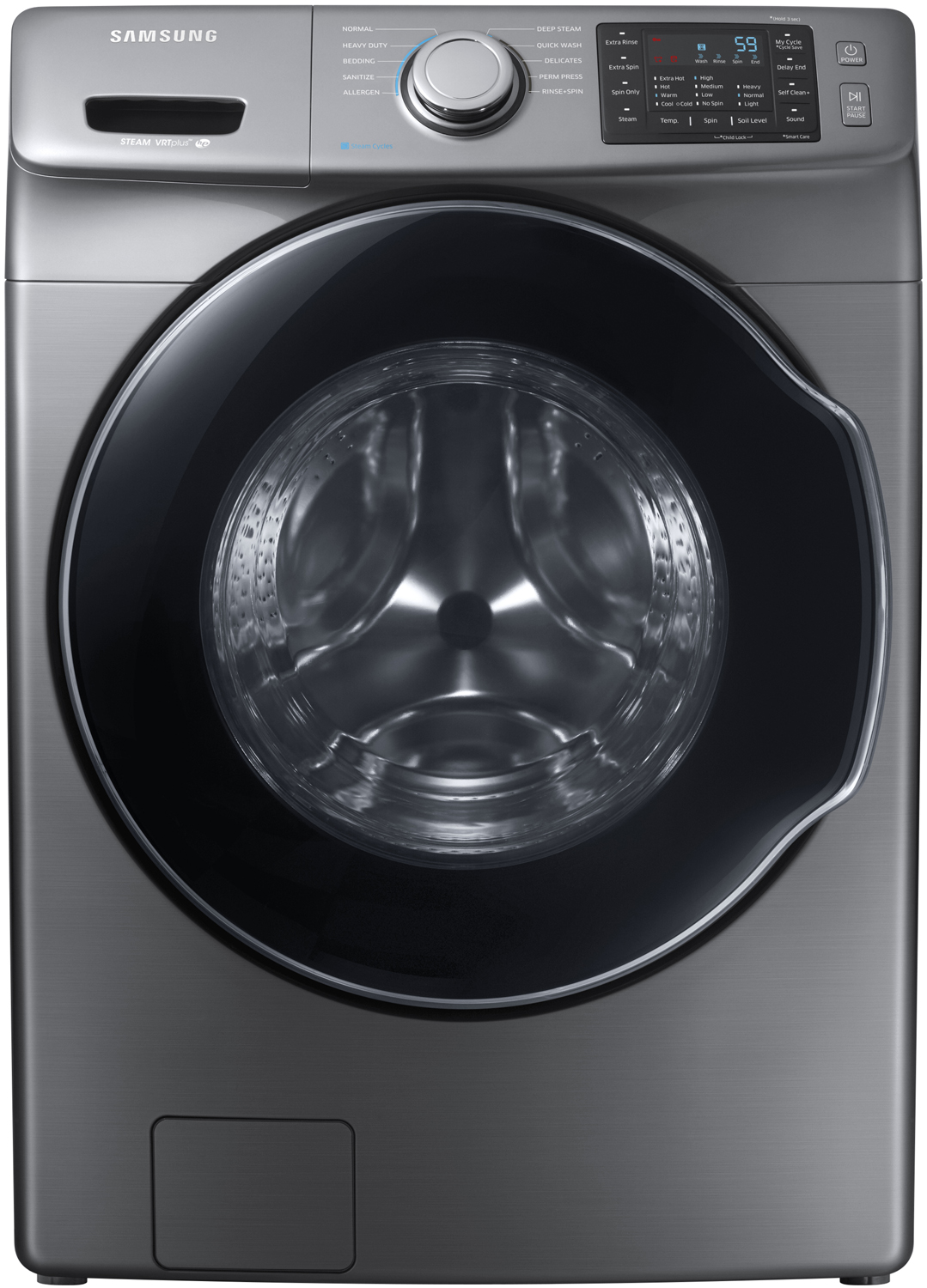 Samsung Platinum Front Load Steam Washer Wf45m5500ap