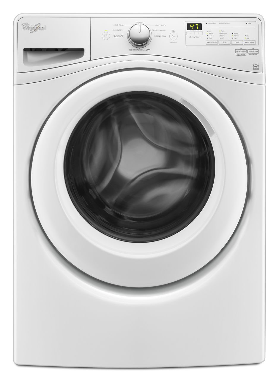 Whirlpool 4 5 Cu Ft Front Loading Washer Wfw75hefw