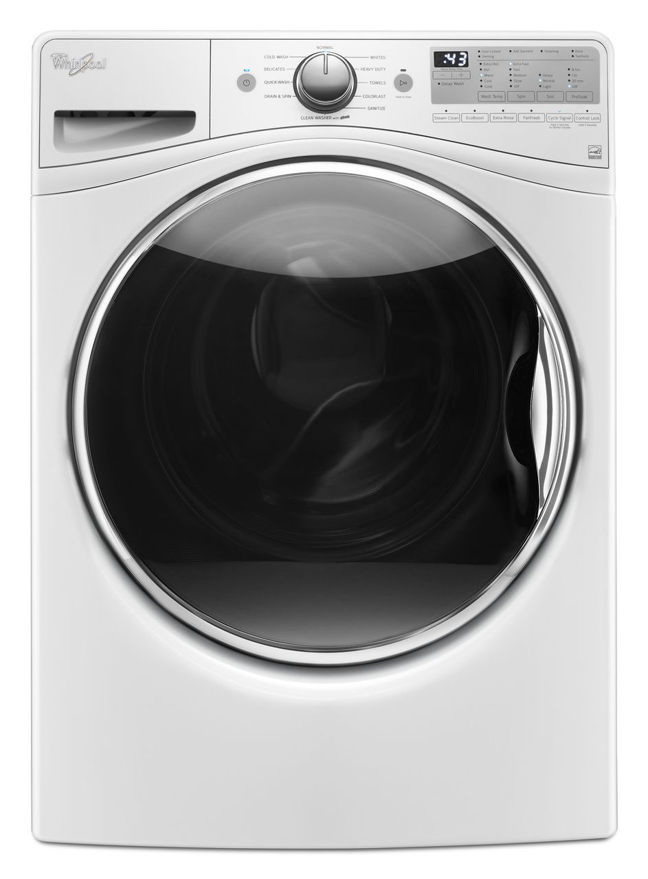 Whirlpool 4.5 Cu. Ft. White Front Loading Washer