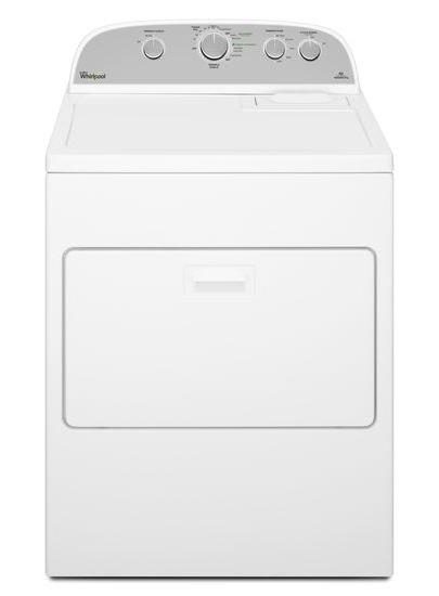 Whirlpool 7.0 Cu. Ft. White High Efficiency Gas Dryer