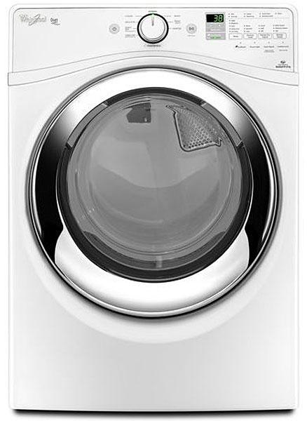 Whirlpool Duet White Gas Steam Dryer