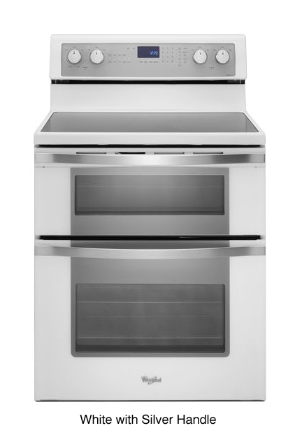 Whirlpool White Double Oven Electric Range