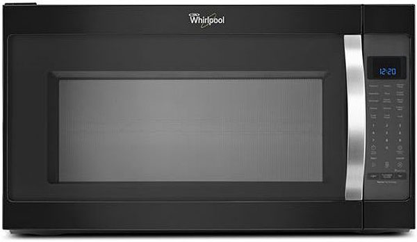 Whirlpool Black And Stainless Steel 2.0 Cu. Ft. Over-The-...
