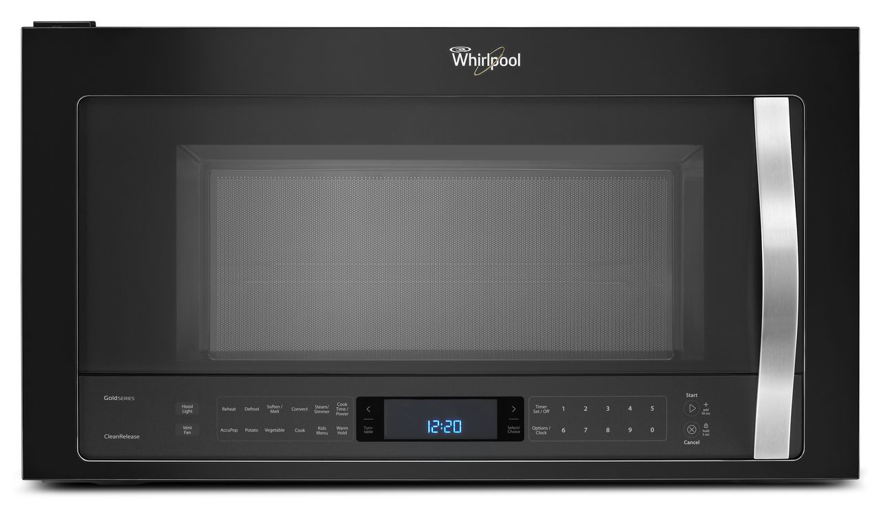 Whirlpool 1.9 Cu. Ft. Over-the-range Microwave Oven Black