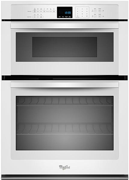 Whirlpool 5.0 Cu. Ft. White Combination Microwave Wall Ov...