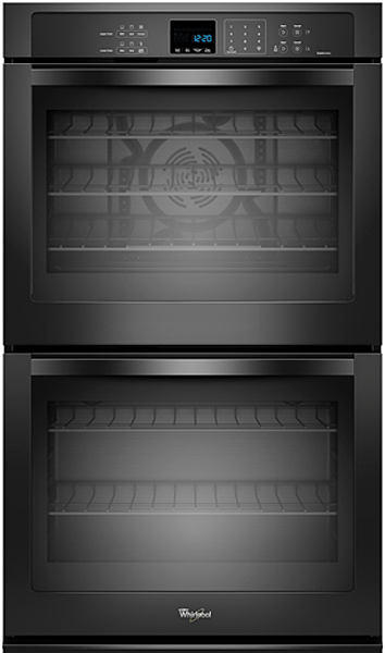 Whirlpool Black Electric Double Wall Oven