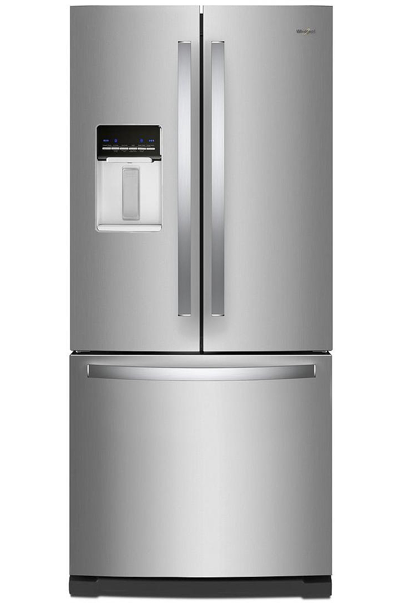 whirlpool stainless steel french door refrigerator wrf560sehz. Black Bedroom Furniture Sets. Home Design Ideas