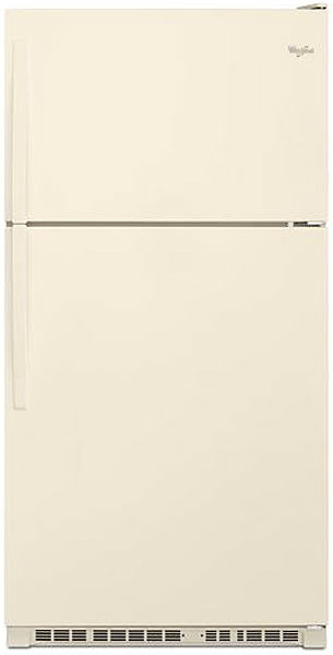 Whirlpool Bisque Top-Freezer Refrigerator