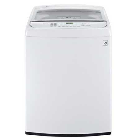 LG WT1701C 5.0 Cu. Ft. Mega Capacity Front Control TurboWash™ Washer White