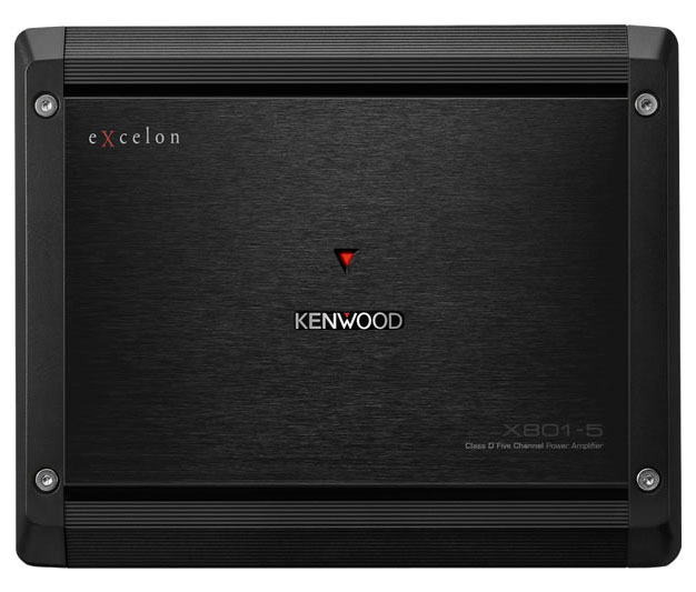 Kenwood eXcelon Class D 5-Channel Power Amplifier