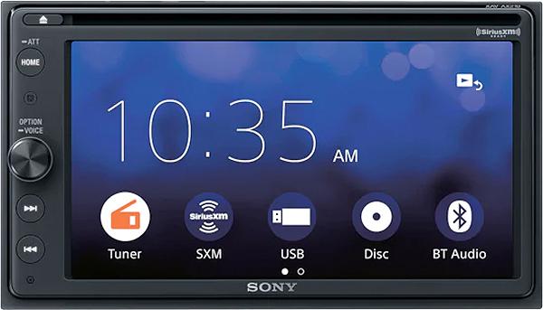 Sony 6 4 Quot Dvd Receiver Xav Ax210