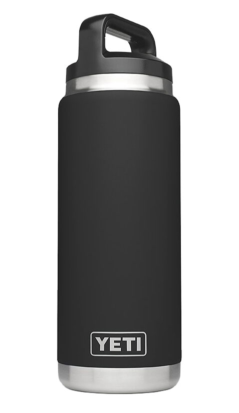 Yeti Black Rambler 26 Oz Water Bottle Yramb26bk