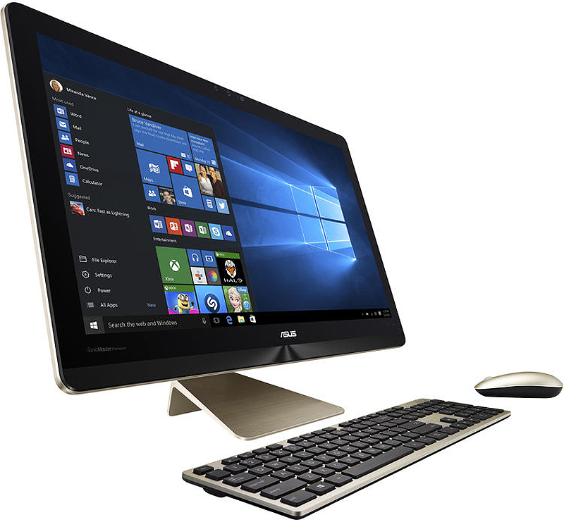 Asus Zen All-In-One Pro Icicle Gold Touch Display Desktop...