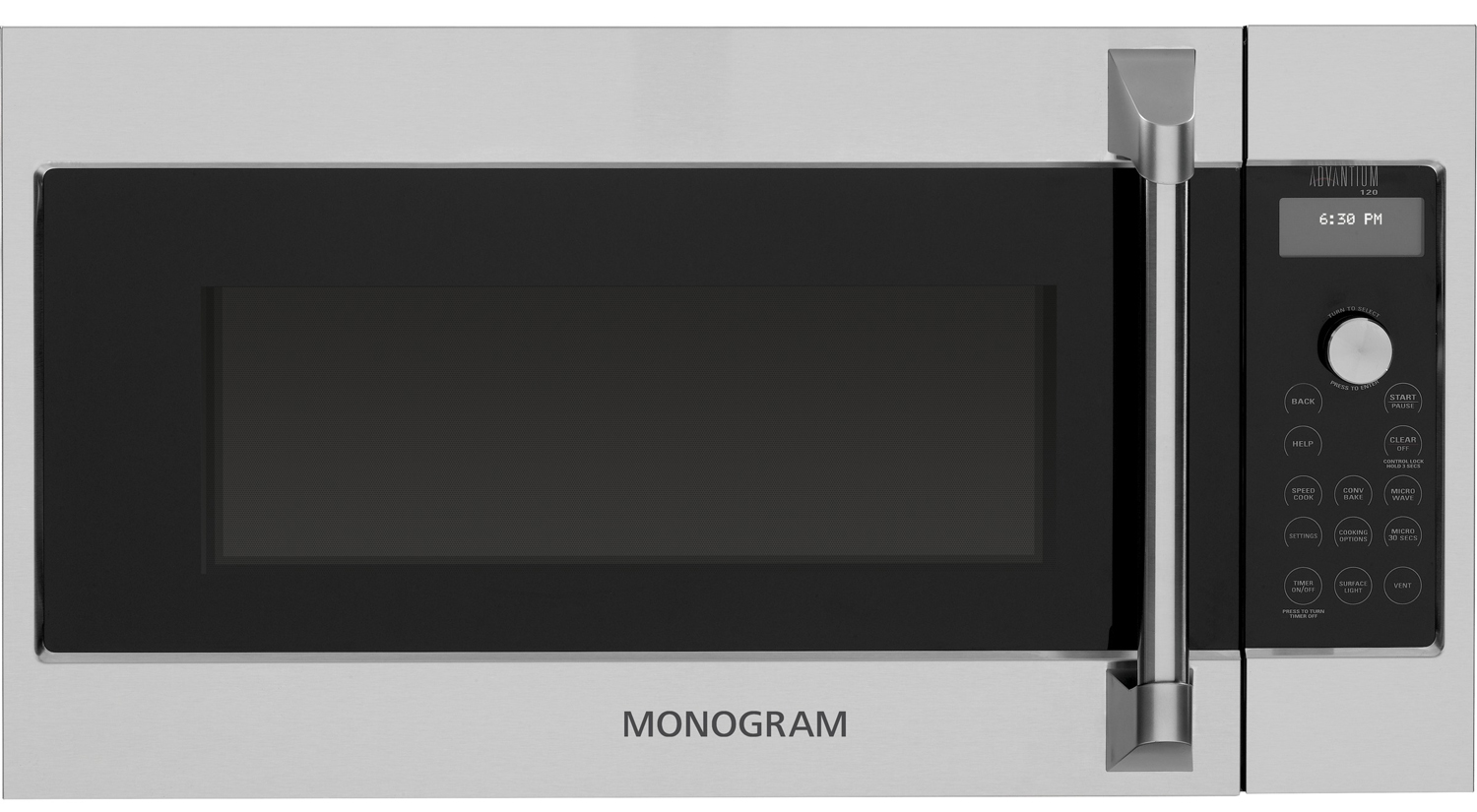 Monogram Over The Range Microwave Oven Zsa1202jss