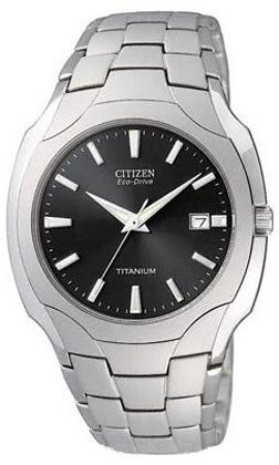 Citizen Eco-Drive Titanium Mens Watch