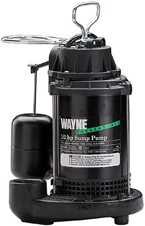 Wayne 1 2 Hp Submersible Sump Pump Cdu800 Abt