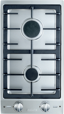 """Miele 12"""" Natural Gas Double Stainless Steel Burner"""