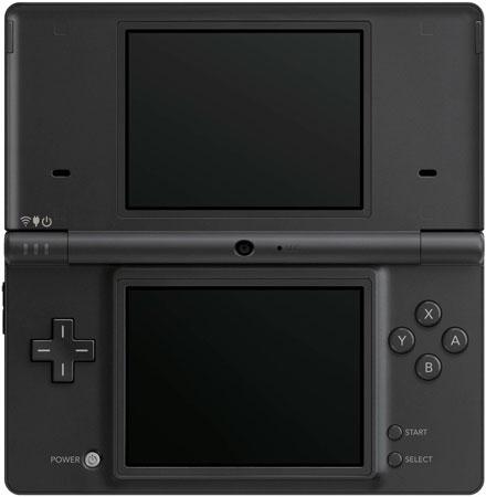 Nintendo DSi Matte Black Portable Gaming System - TWLSKA