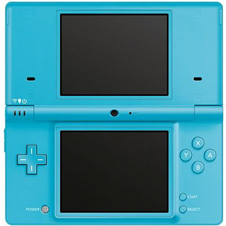 Nintendo DSi Blue Portable Gaming System - TWLSSBA