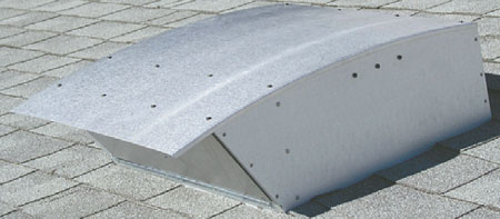 Abbaka HYEX Exterior Wall Or Roof Mount Blower 1400CFM - HYEX-1.4