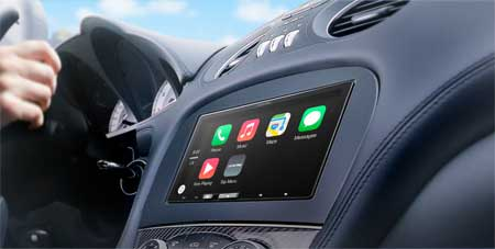 "Alpine 7"" In-Dash AV Receiver System With Apple CarPlay"