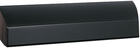 "GE Profile 30"" Black Range Wall Hood"