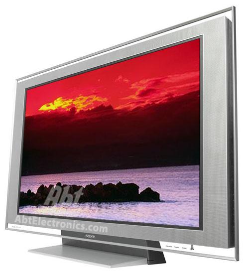 Sony 46 Quot Bravia Xbr Lcd Tv In Medium Silver Kdl 46xbr2