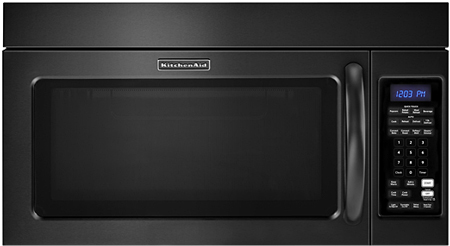 Converting countertop microwave to over the range