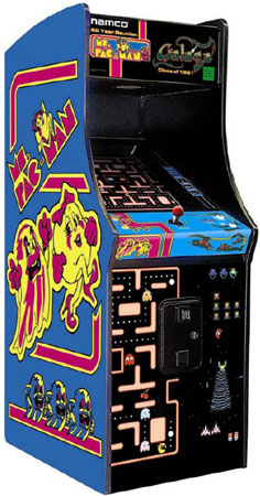 Chicago Gaming Company Ms. Pac-Man And Galaga Arcade Home...