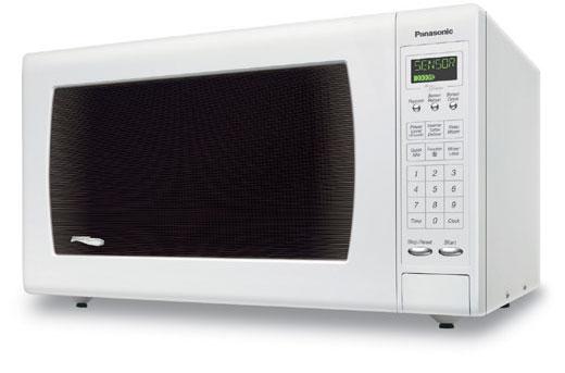 Panasonic Genius Countertop Microwave In White