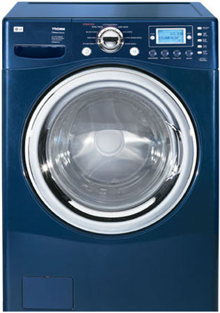 Lg Tromm 4 2 Cu Ft Navy Blue Front Load Allergiene