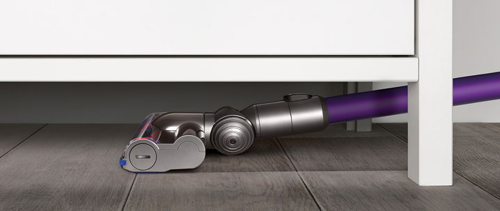 Dyson DC59Animal under furniture