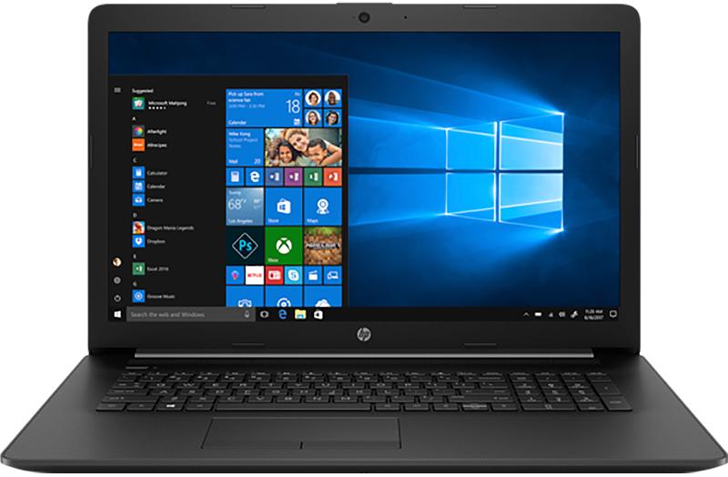 "HP Jet Black 17.3"" Laptop AMD Ryzen 5-3500U 12GB RAM 256GB SSD, AMD Radeon Vega 8 Graphics"