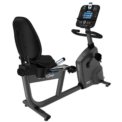 Life Fitness RS3 Lifestyle Exercise Bike with Track Console