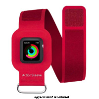 Twelve South Red ActionSleeve Armband For 38mm Apple Watch