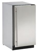 "U-Line 18"" Stainless Steel Modular 3000 Series Ice Machine"