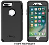 Otterbox Black Defender Series Case For Apple iPhone 7/8 Plus