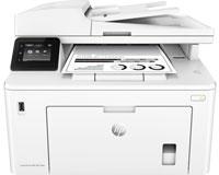 HP LaserJet Pro White Wireless Printer