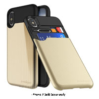 Prodigee UnderCover Gold Case For iPhone X
