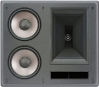 Klipsch Galaxy Black 2-Way THX Ultra2 In-Wall Right LCR Loudspeaker