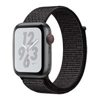 Apple Watch Nike+ Series 4 GPS & Cellular 44mm Space Gray Aluminum Case with Black Nike Sport Loop